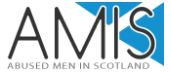 AMIS logo Abused men in Scotland
