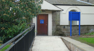 Careers service entrance