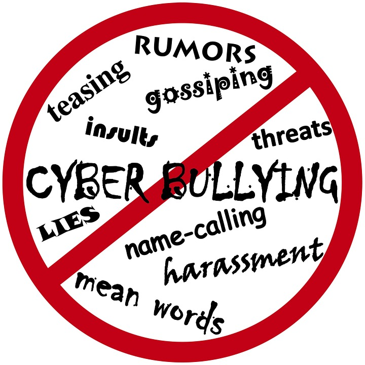 words relating to cyber bullying