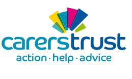 Carers Trust logo - action, help, advice