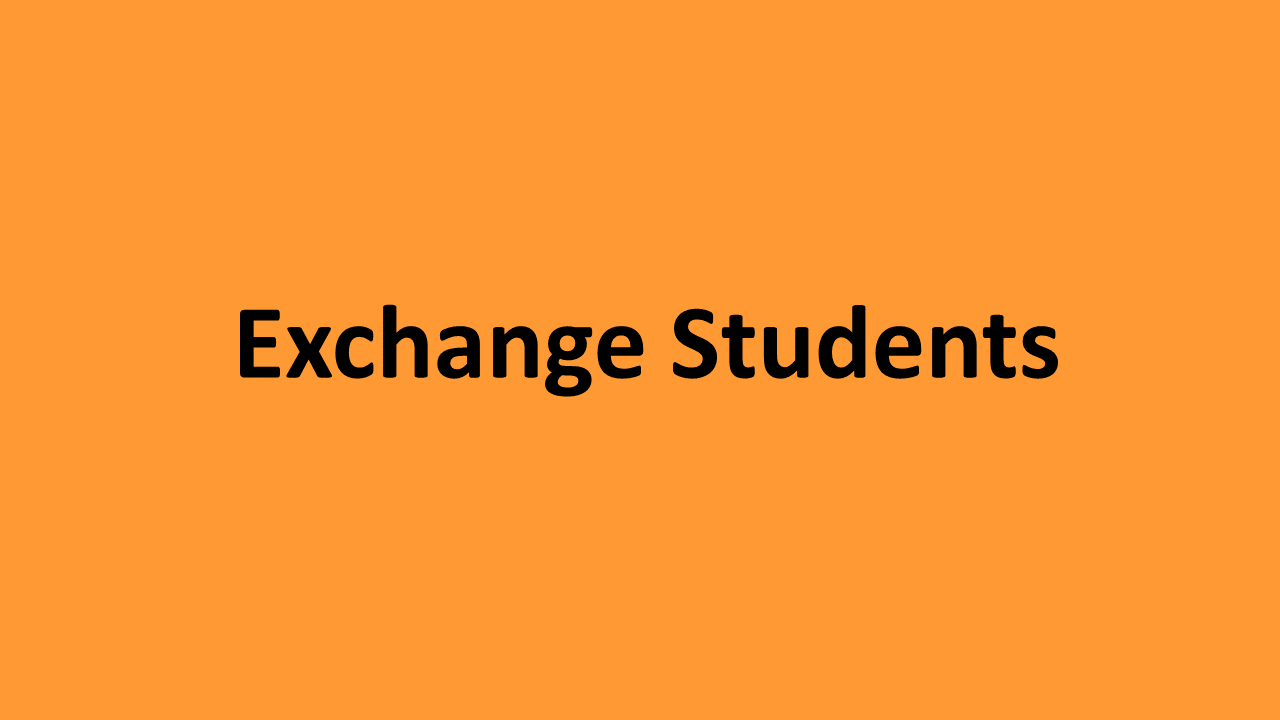 Exchange Students
