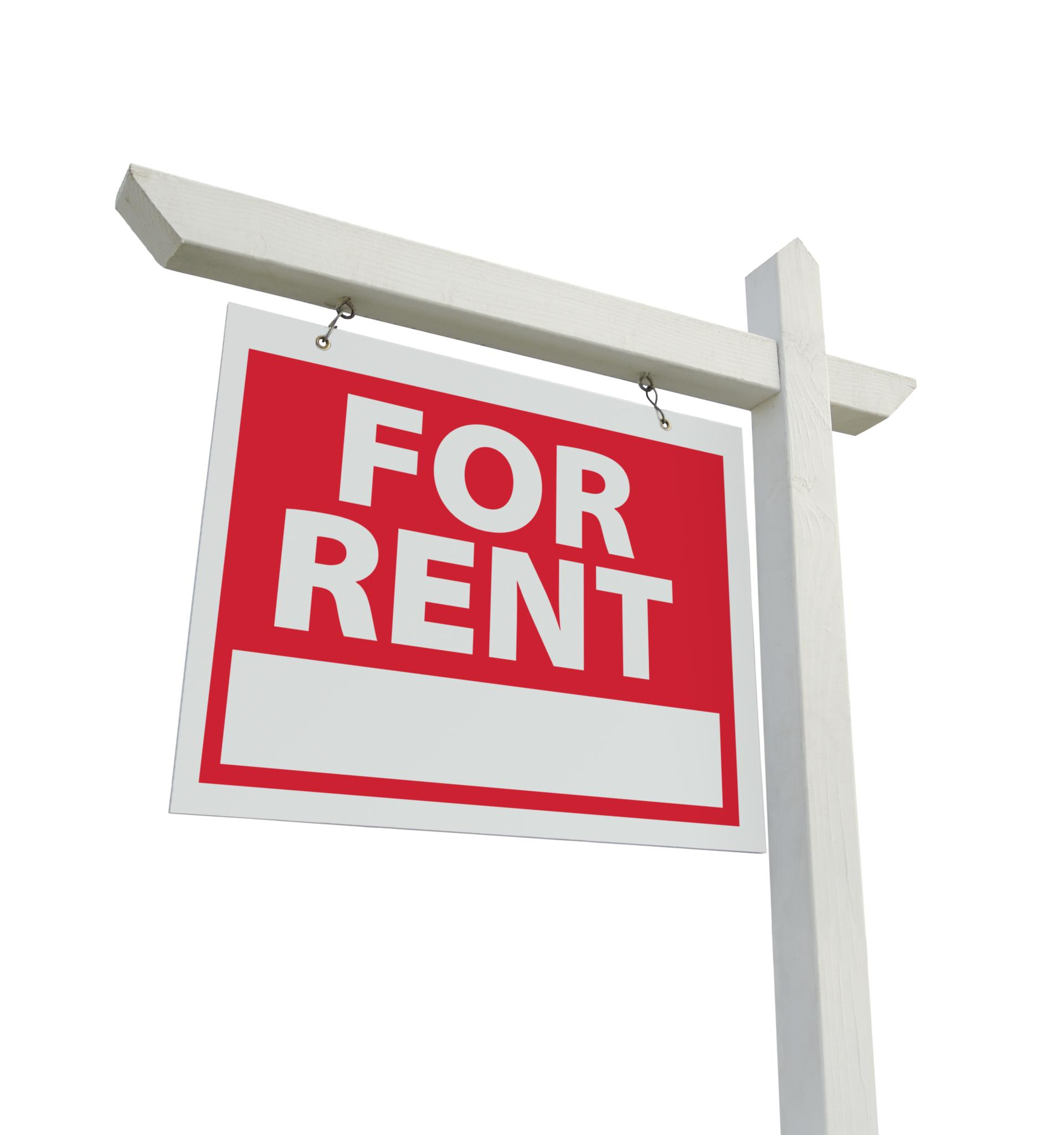 Image of Flat to Rent sign