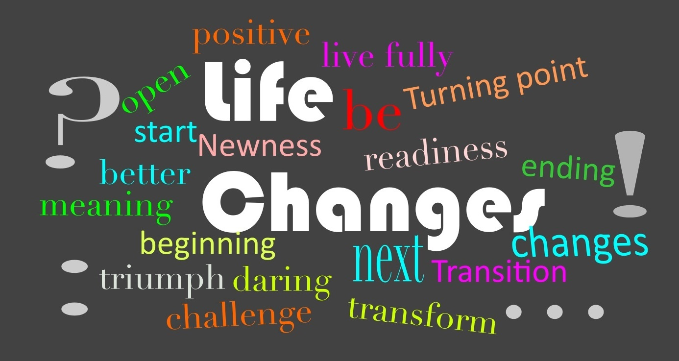 words associated with change