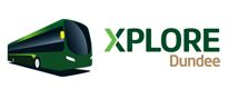 Image of bus Xplore Dundee logo
