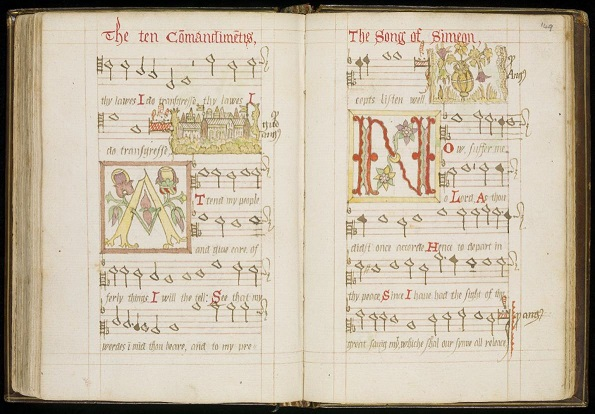 Scottish Metrical Psalter, 1562-1592, Thomas Wood (Wode) of St Andrews (Dk.5.14),