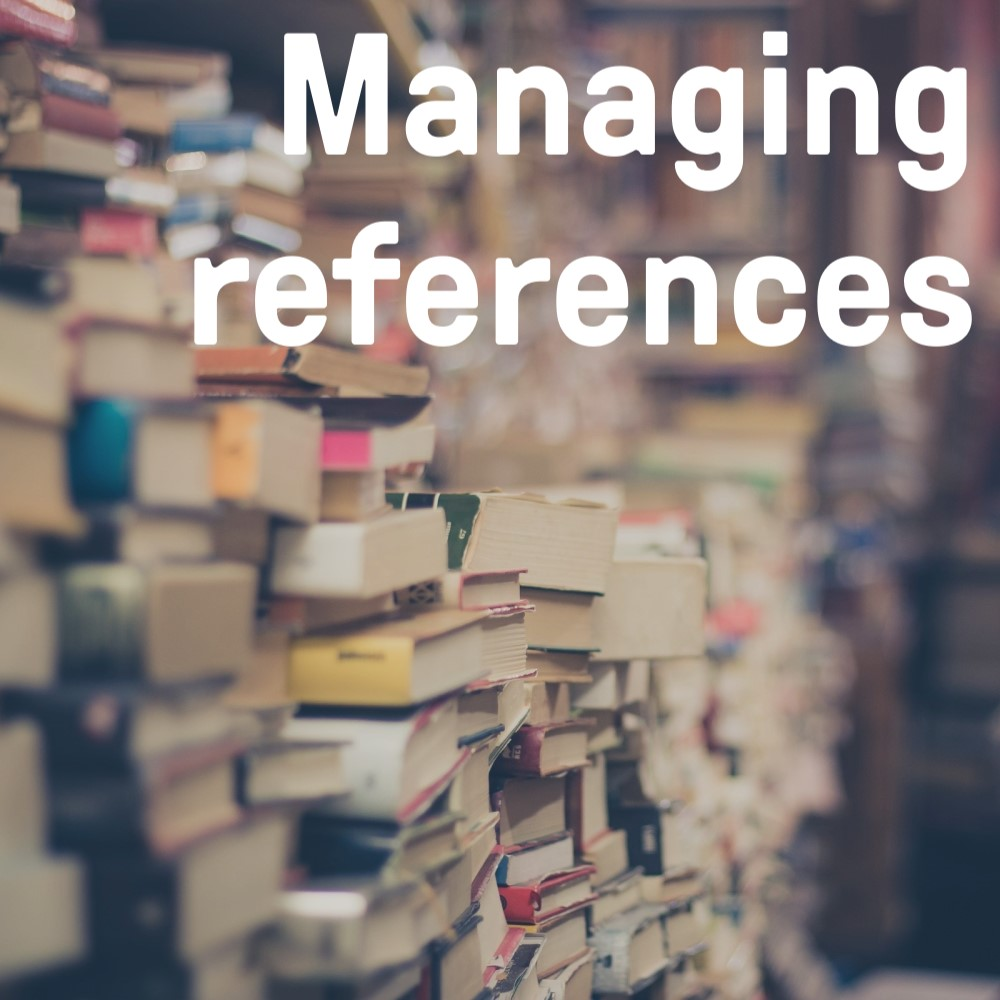 Managing references