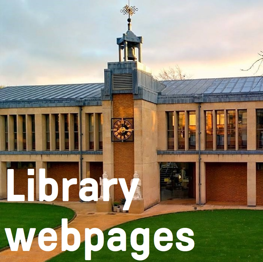 Link to library webpages