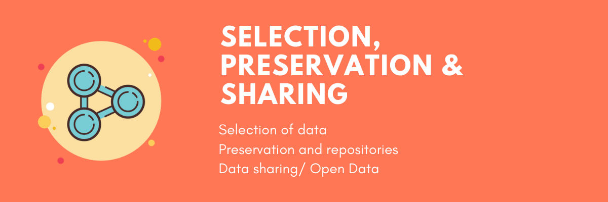 Selection, preservation and sharing