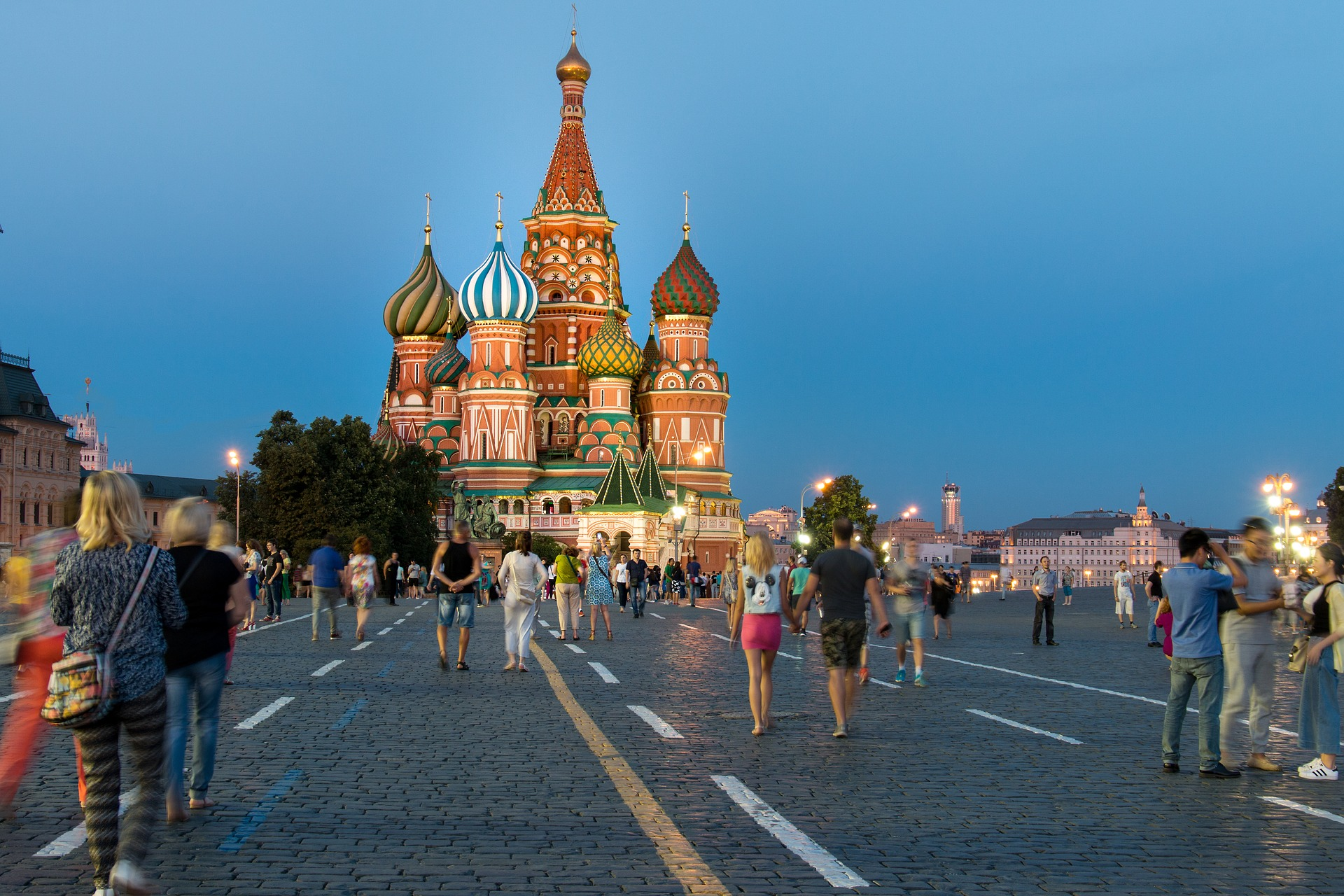 Image of Kremlin, Moscow.