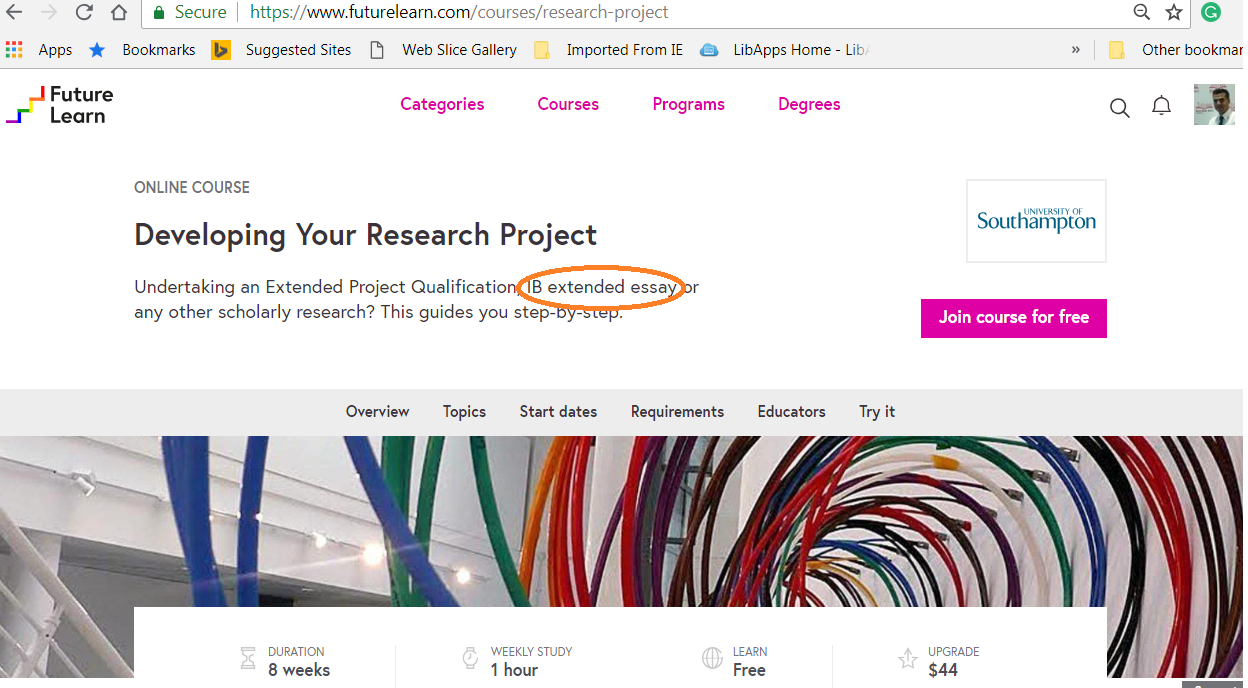 Developing your research project