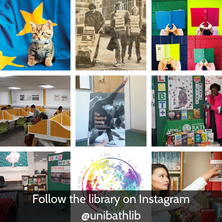 Follow the Library on Instagram