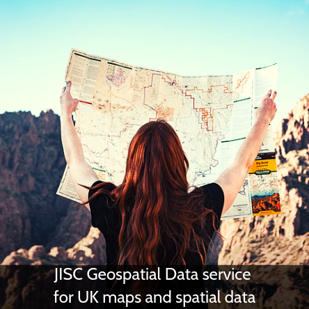 JISC Geospatial Data service now available for UK maps and spatial data
