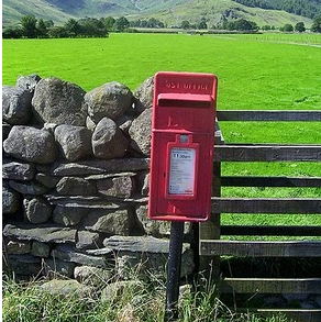 Photograph of a postbox