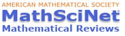 Logo de la base de datos MathSciNet