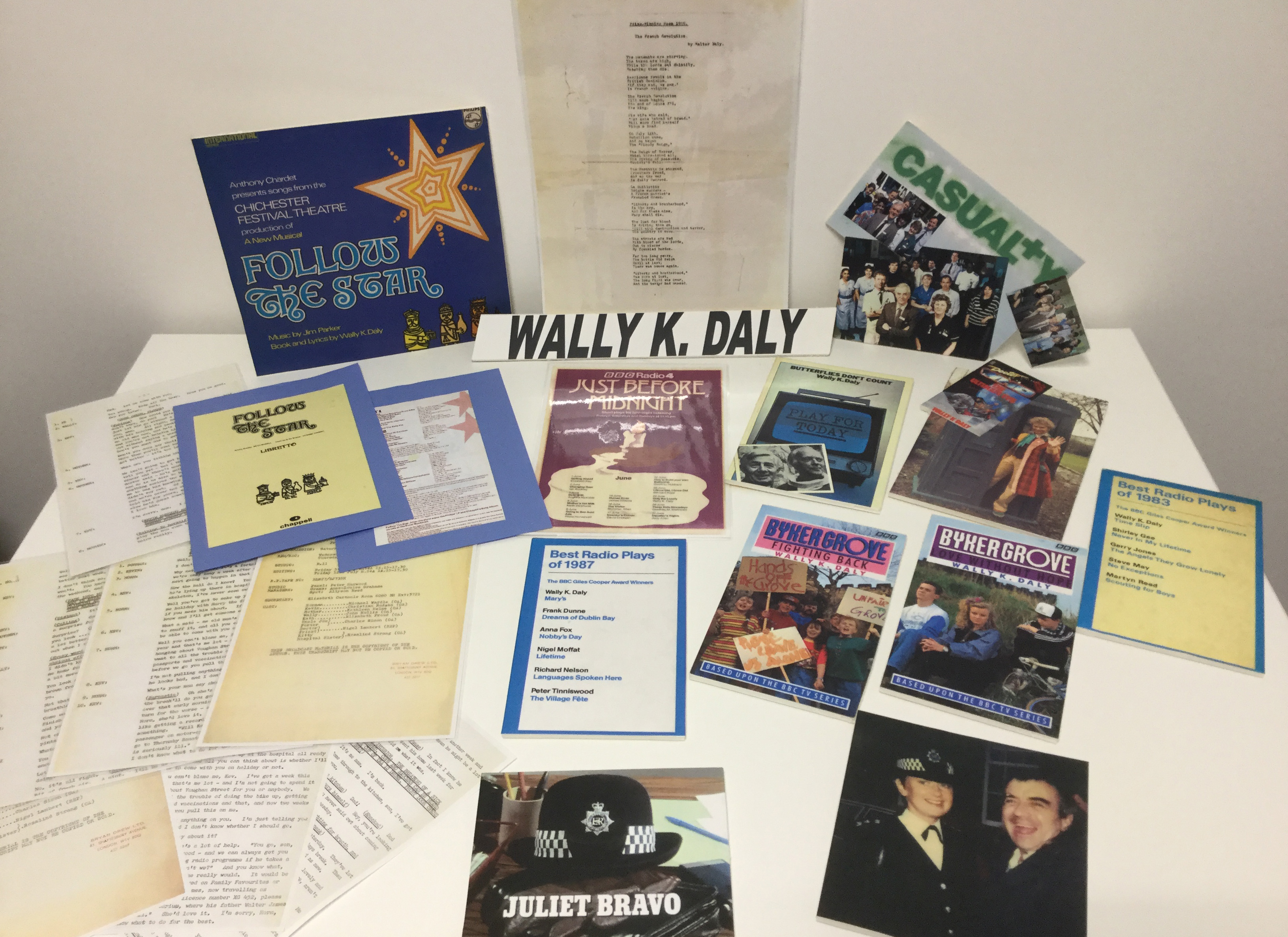 Wally K Daly Archive material