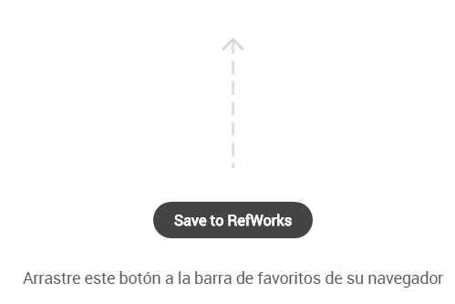 RefWorks: Arrastrar Save to RefWorks a la barra de favoritos