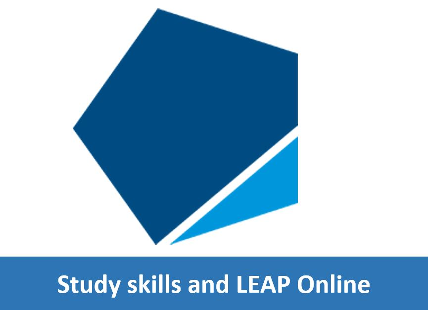Click here for information on study skills and access to LEAP Online