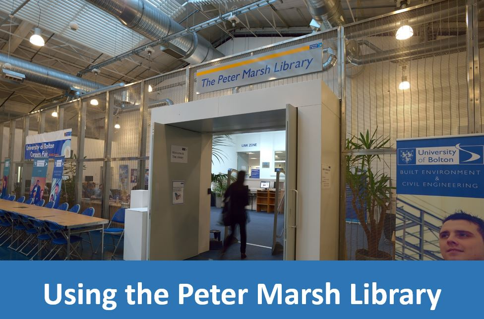 Click here for information on using the Peter Marsh Library