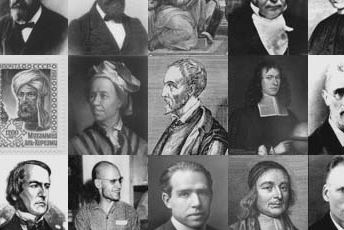 Pictures of mathematicians