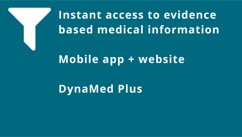 Instant access to evidence: DynaMed Plus