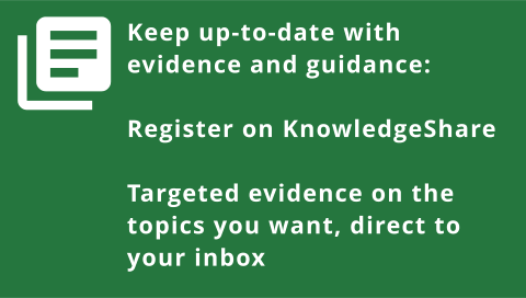 Keep up-to-date with KnowledgeShare