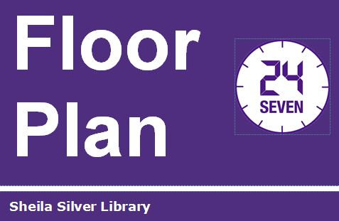 Screen shot and link to Sheila Silver Library Floor Plan