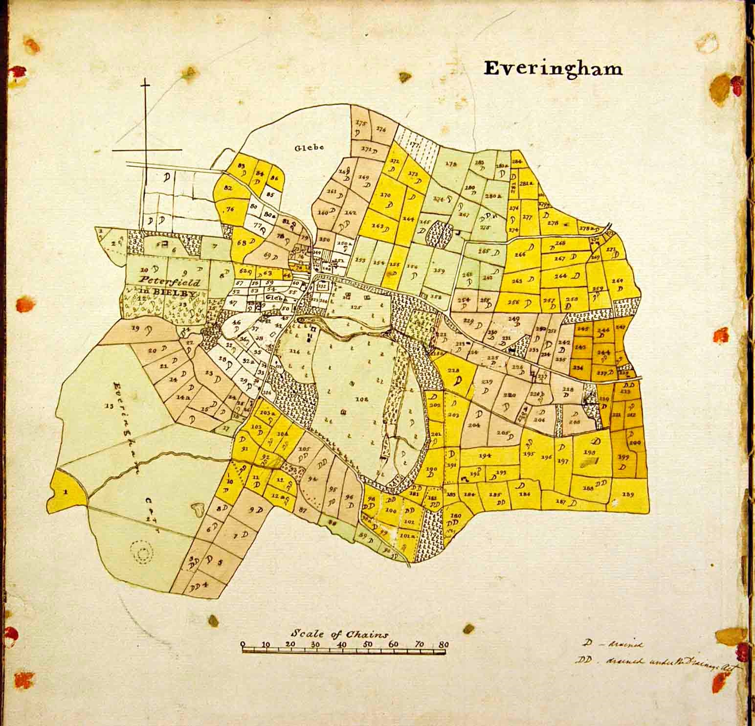 Map of Everingham