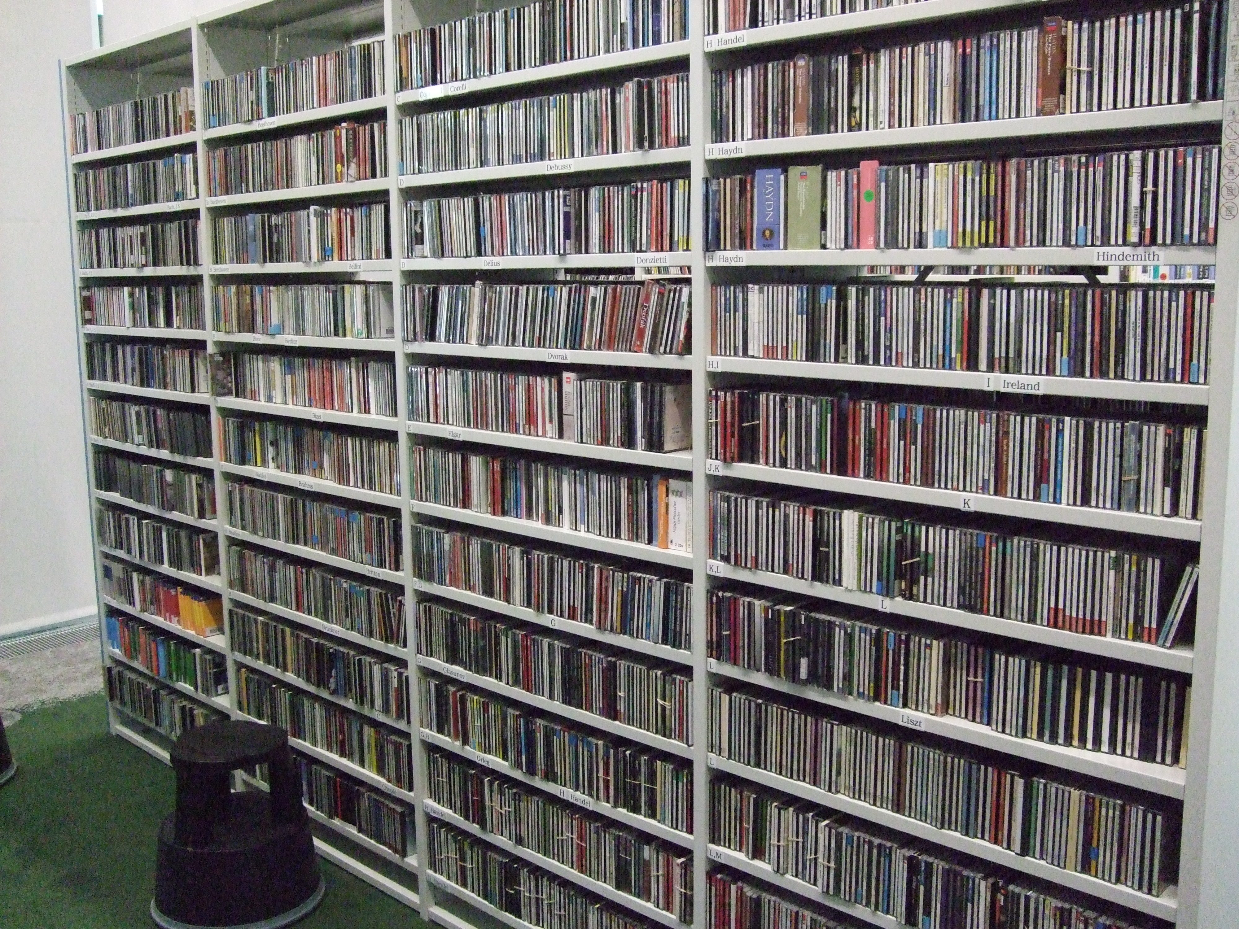 CDs in Curzon Room C001