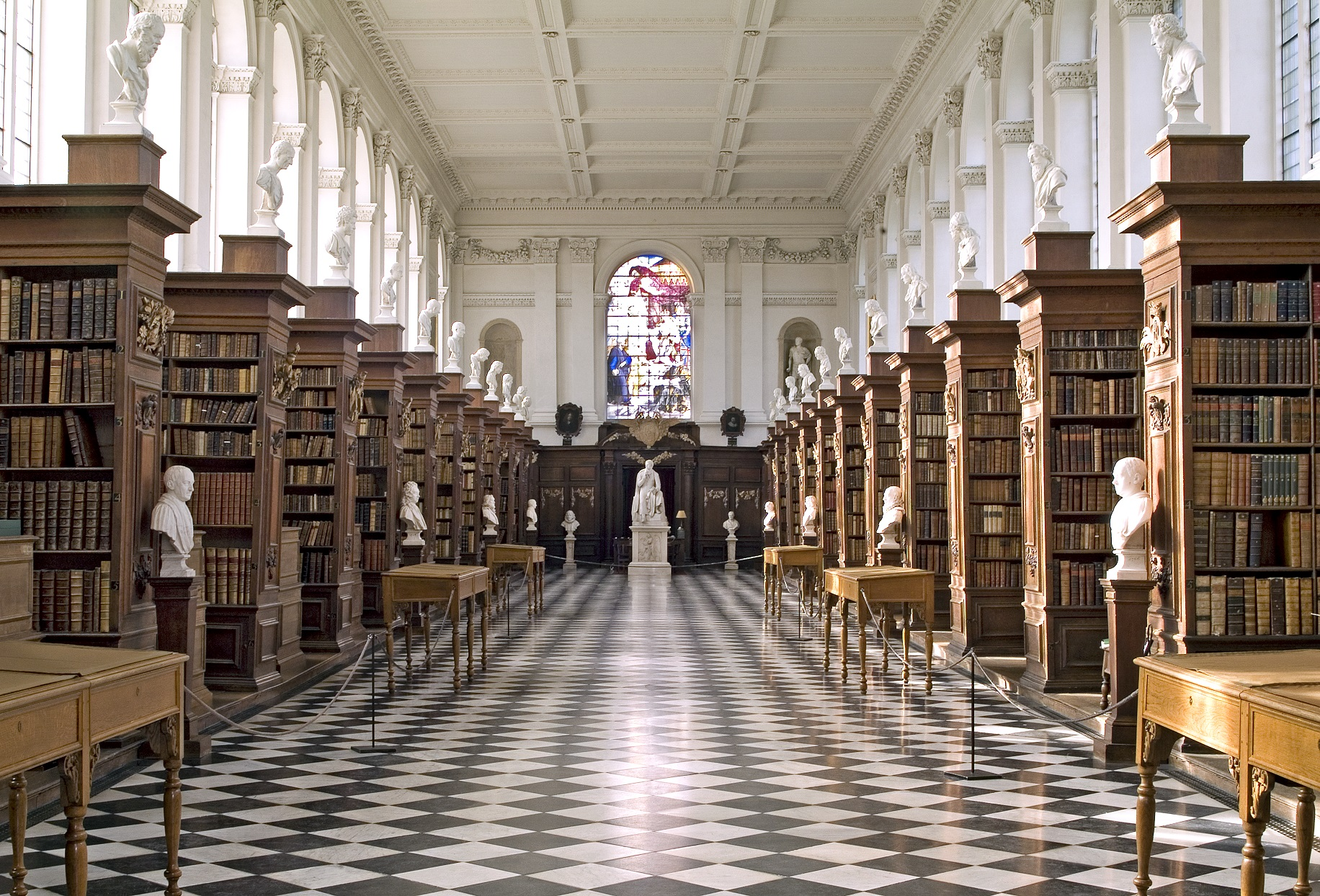 Image of the Wren Library, Trinity College