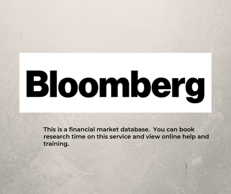 Links to Bloomberg information