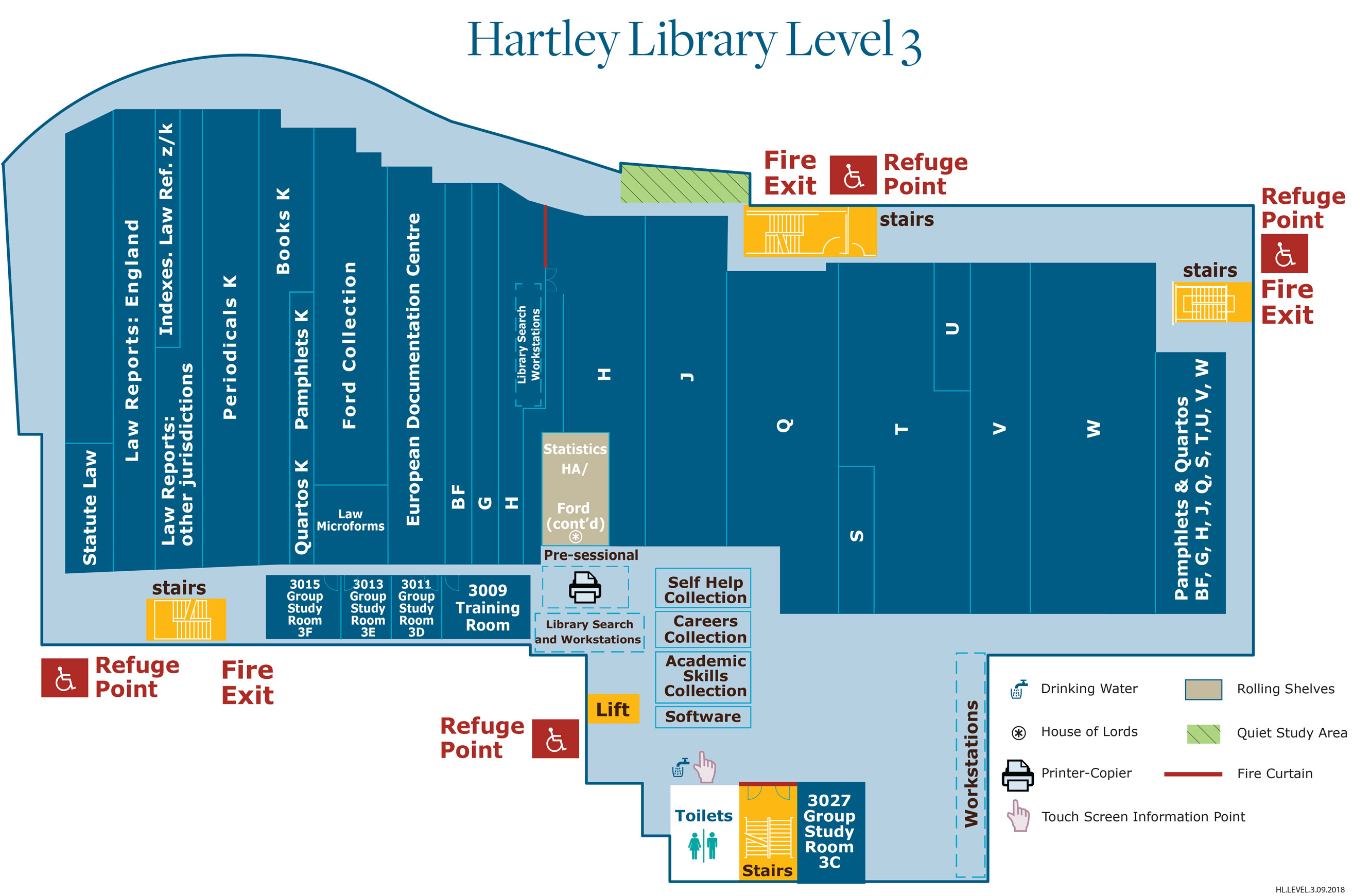 Hartley Level 3 Floor Plan