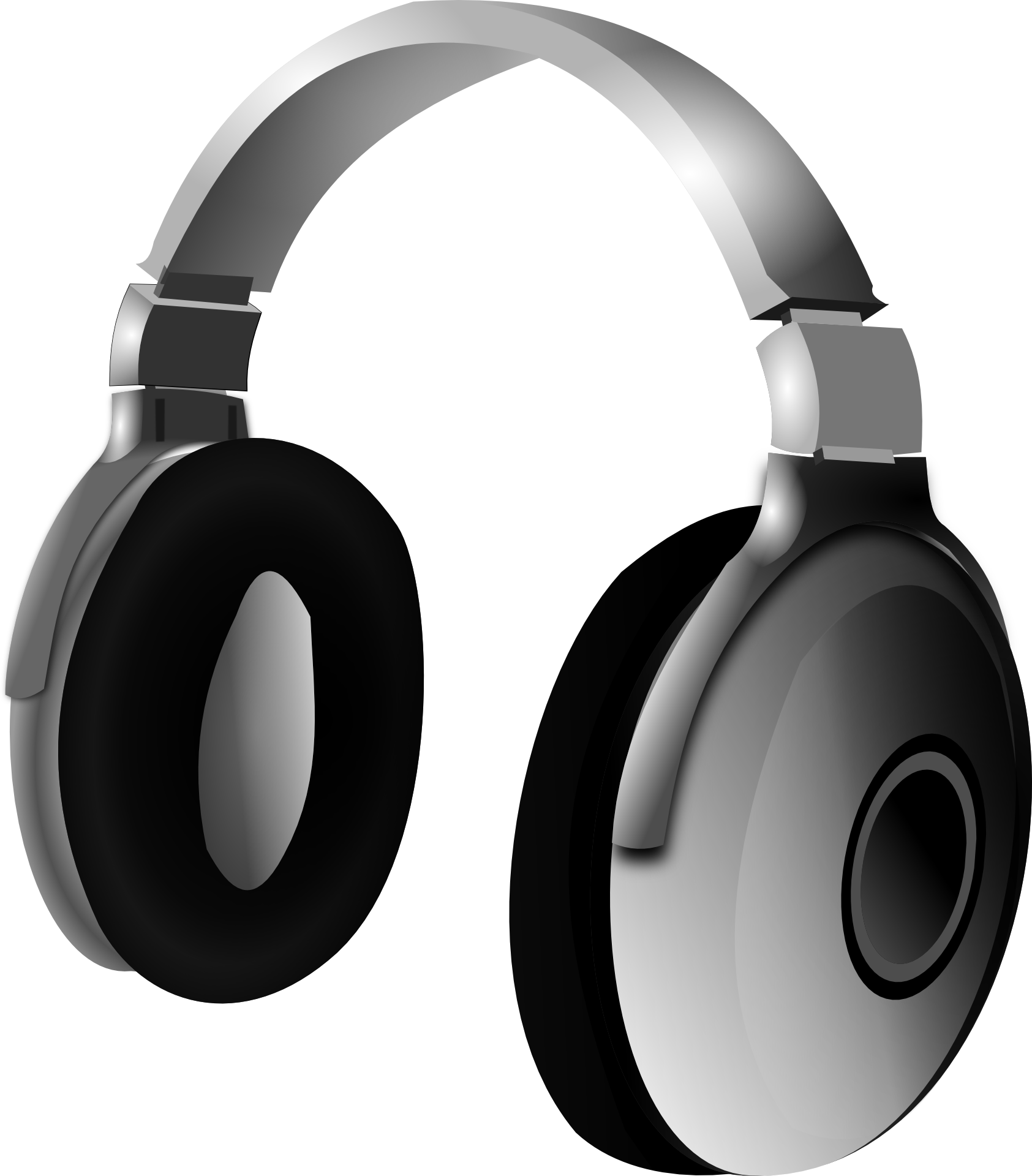Headphone photo. Source: OpenClipart-Vectors/Pixabay. Creative Commons 0.   https://pixabay.com/en/headphone-headset-music-audio-159569/