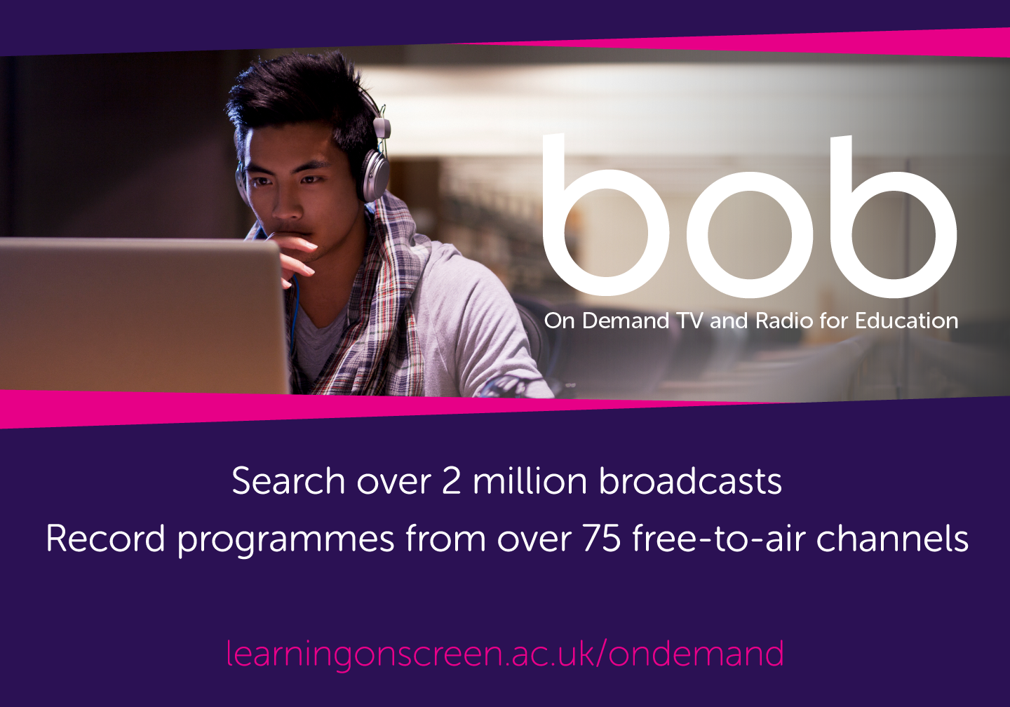 search over 2 million programmes from 75 channels