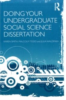 Doing your undergraduate social science dissertation bookcover