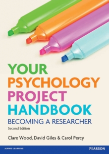 Your psychology project handbook. Becoming a researcher bookcover