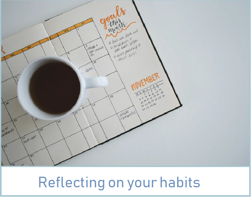 Reflecting on your habits