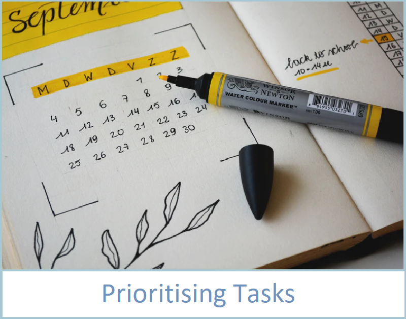 Prioritising tasks