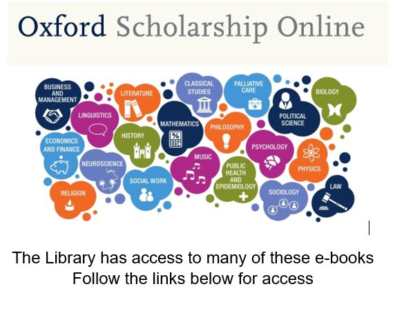 Oxford Scholarship Online e-books