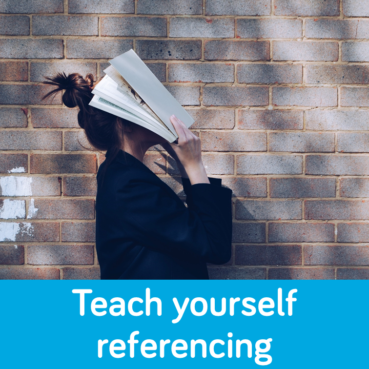 Teach yourself referencing box link