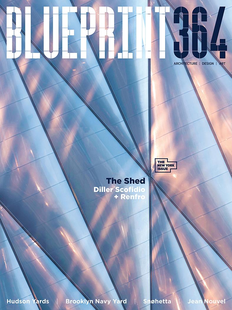 Blueprint magazine cover image