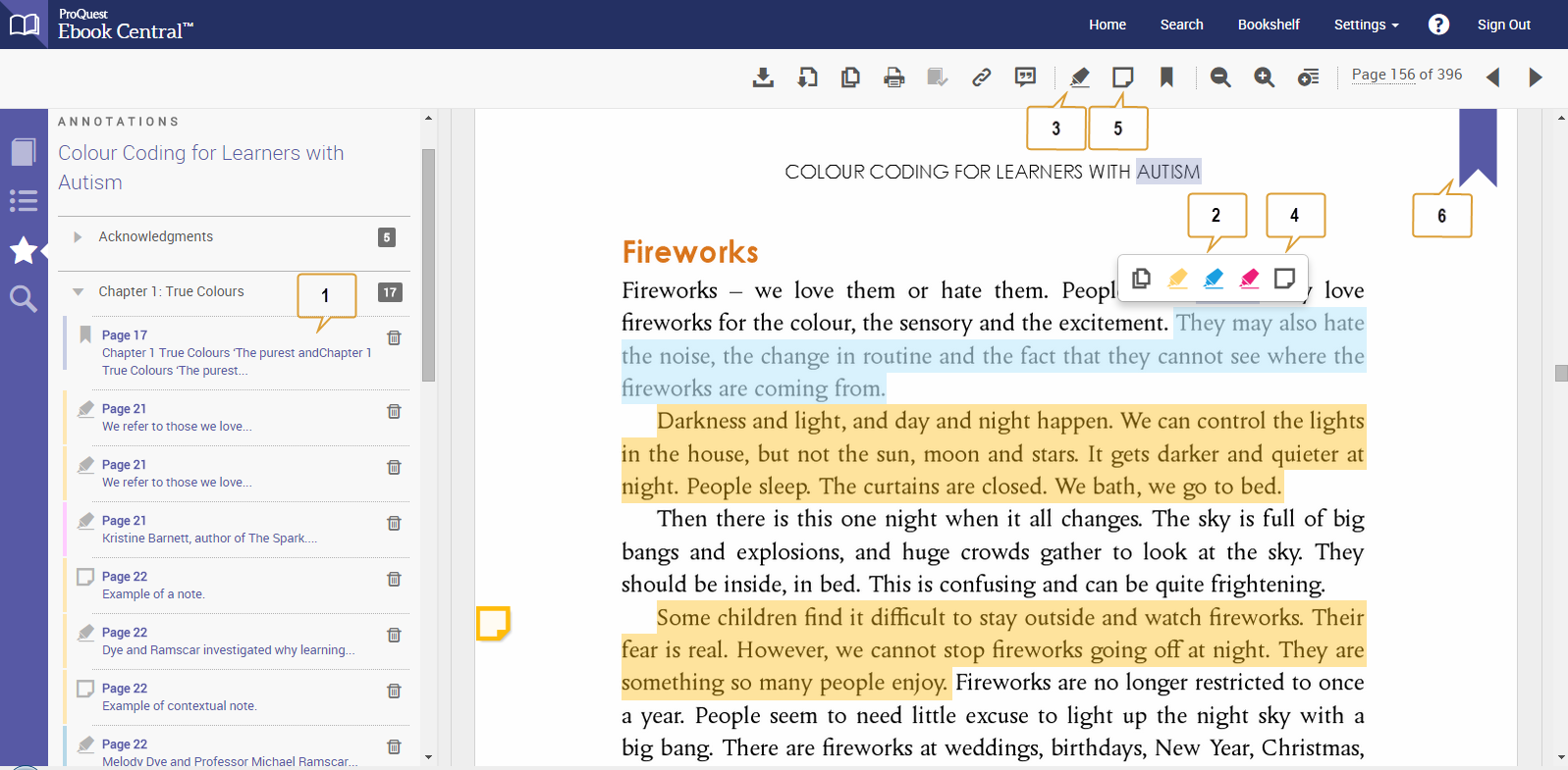 screenshot of ebook