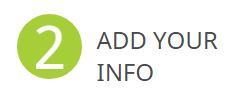 Add your info to your ORCID
