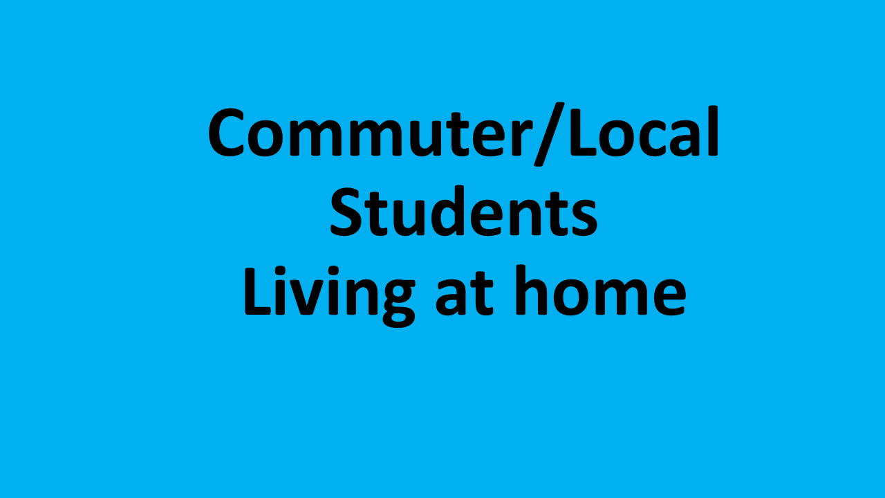Commuter /Local Students