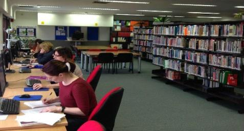 Library at Fife Campus