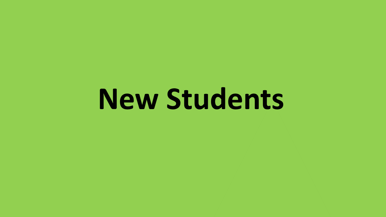New Students