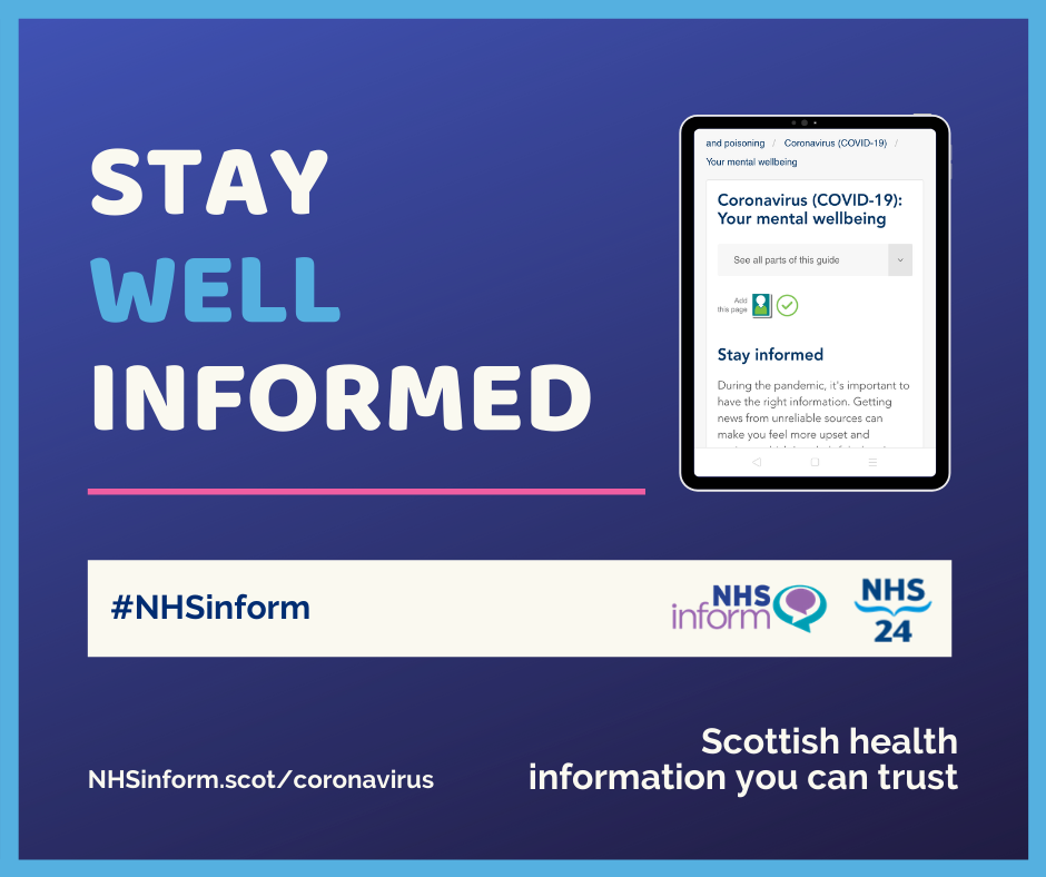 Stay well informed