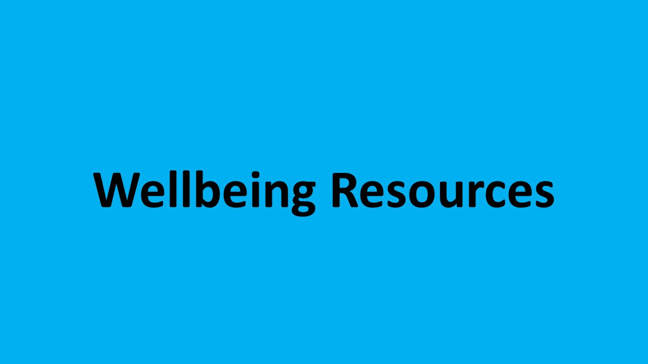 Wellbeing Resources