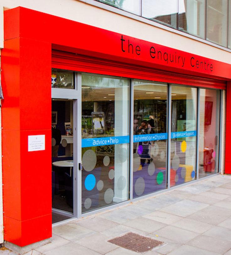 Enquiry Centre exterior