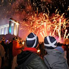Hogmany celebrations