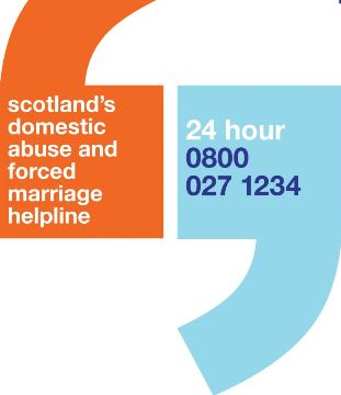 Scotland's domestic abuse and forced marriage helpline 24 hour 0800 027 1234